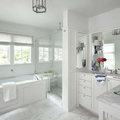 L Shaped Vanity Ideas, Pictures, Remodel and Decor