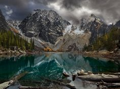 My favorite of Colchuck Lake and Dragontail Peak - Leavenworth, WA