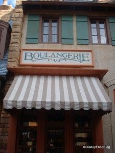 Boulangerie Patisserie -counter and snack- yummy sweets