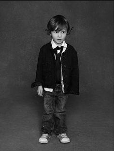 """Hudson Kroenig for Chanel's """"The Little Black Jacket"""" by Karl Lagerfeld & Carine Roitfeld for Chanel"""