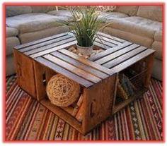 cómo hacer una mesa de madera sencilla, como hace una mesa de madera reciclada, como hacer una mesa con cajas de madera, como reciclar cajas de madera, como reciclar huacales de madera, como reciclar cajas de fruta, como reciclar cajas para frutas, manualidades faciles de hacer, manualidades para decorar la sala, como hacer manualidades para decorar la sala, forma creativa de reciclar una caja de madera, como reciclar una caja de madera, que puedo hacer con algunas cajas de madera, muebles…