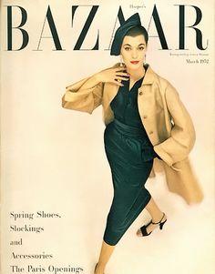 Harper's Bazaar March 1952. By Richard Avedon.