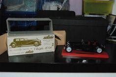 bugatti royale 1/43 solido 1930 anni 60 con scatola originale