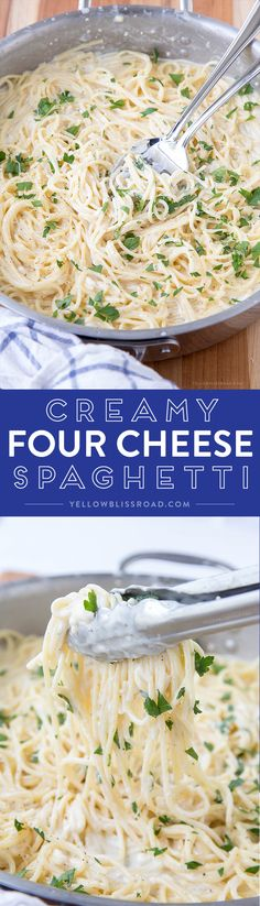 Creamy Four Cheese S