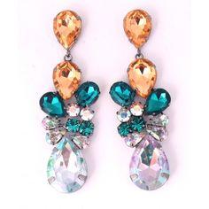 Beautiful colorful DOPLHIN earrings Statement Earrings, Drop Earrings, Little Things, Pretty Little, Colorful, Beautiful, Jewelry, Fashion, Moda
