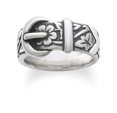 Floral Belt & Buckle Ring: James Avery from James Avery. Shop more products from James Avery on Wanelo. Texas Jewelry, Avery Jewelry, Sterling Silver Jewelry, Silver Rings, Silver Bracelets, James Avery Rings, Country Rings, Country Jewelry, Thumb Rings