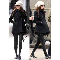 House of Harlow 1960 Brigit Flat in Black/White - as seen on Nicole Richie
