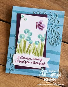 Garden Impressions Suite from Stampin' Up! - Abstract Impressions stamp set
