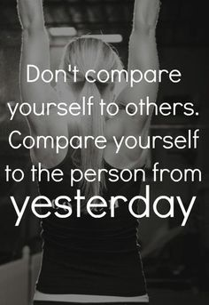 Repin this if you feel you are a fitter person than you were yesterday!  #womensfitness #fitchick #fitness #healthy #motivation