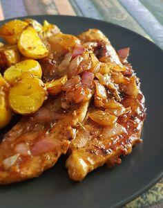 Πανσέτες με μέλι και μουστάρδα | Cookos Bacon, Meat, Breakfast, Recipes, Food, Morning Coffee, Recipies, Essen, Meals