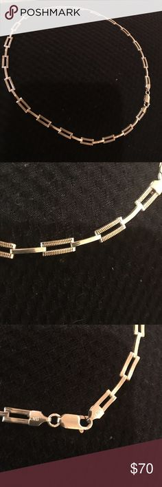 Silver necklace 925 beautiful solid piece Silver necklace 925 Jewelry Necklaces