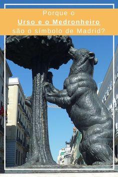Descobre porque o urso e o medronheiro são o símbolo da cidade de Madrid!
