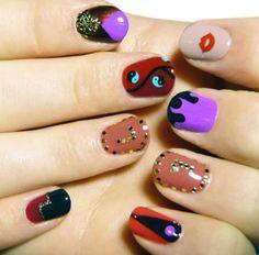 hipster nails   Tumblr