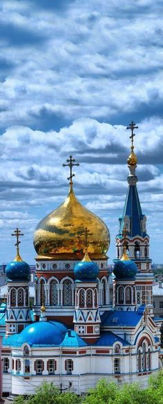 The Assumption Cathedral, Omsk, Russia