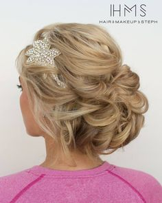 wedding bridal updo