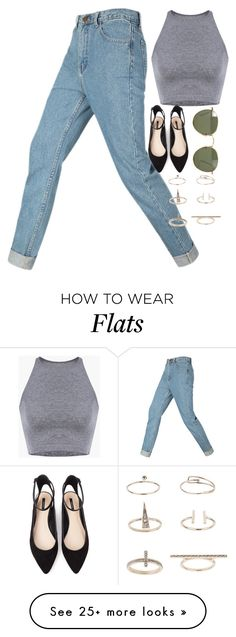 """Untitled #3214"" by glitter-the-world on Polyvore featuring Forever 21, Ray-Ban and Topshop"