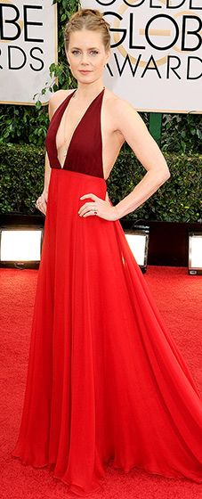 Amy Adams in Valentino Couture, Golden Globes 2014