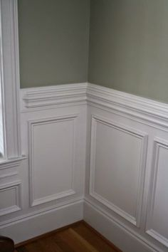 traditional chair railing and moulding - Google Search