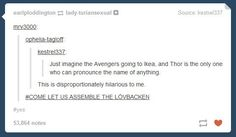 "This revelation about how the team dynamics work. | 22 Pictures That Only Fans Of ""The Avengers"" Will Find Funny"