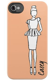Fashion Sketch Smartphone Case #fashion #tech