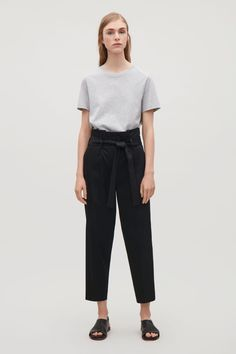 COS | Trousers with waist tie