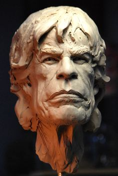 Mick Jagger Awesome Sculpture by Mark Newman | http://cgvilla.com/2014/11/29/awesome-sculpture-by-mark-newman/
