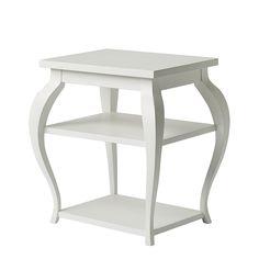 Vera Side Table – White | Serena & Lily