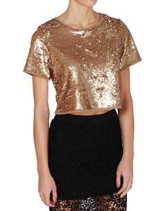 Απίστευτο τοπ! Daily offer με 50% έκπτωση: http://mikk.ro/bfQ  #χρυσό #τοπ #μπλούζα #παγιέτες #gold #tshirt