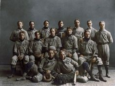 This Tufts University baseball team studio portrait from 1890 / Momentous Colorized Photos That Let You Relive American History Colorized Historical Photos, Colorized History, Historical Pictures, National Baseball League, History Photos, Studio Portraits, Vintage Photography, Portrait Photography, Old Photos