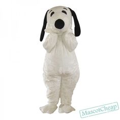 Snoopy Dog Mascot Costume Cartoon Character Costumes (L - to