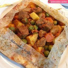 Papier-Kebab – et yemekleri - Turkish Recipes, Italian Recipes, Ethnic Recipes, Fish And Meat, Fish And Seafood, Meat Recipes, Healthy Recipes, Kebab, Pasta