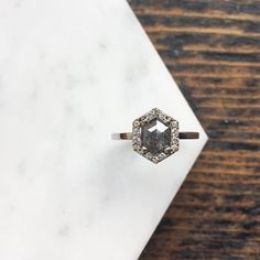 Wedding Engagement, Wedding Bands, Engagement Rings, Wedding Stuff, Stone Jewelry, Jewelry Rings, Jewellery, Alexis Russell Jewelry, Hair Jewelry