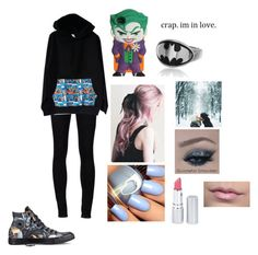 """first date hehe"" by bennyhazel ❤ liked on Polyvore featuring Ström, Converse, CO and HoneyBee Gardens"