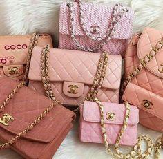 bdaa4acefca6 Pink Chanel Bag, Chanel Purse, Chanel Handbags, Coco Chanel Bags, Purses And