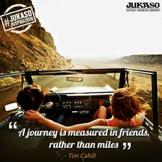 Journeys taken with friends are the most memorable ones. #JukasoInspiration