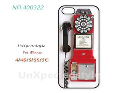 Phone Cases,  iPhone 5 Case,  iPhone 5S/5C Case, iPhone 4/4S Case, Phone covers, Retro phone, Case for iPhone-400322