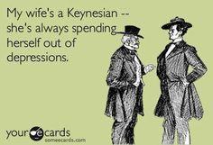 Keynesian economics lol.
