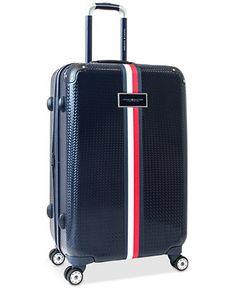 e9787018f065e1 Tommy Hilfiger Basketweave Hardside 25 Spinner Suitcase - Tommy Hilfiger -  Luggage & Backpacks -
