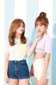 Apink EunJi and NamJoo