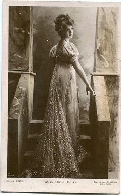 Brittish Edwardian stage star miss Billie