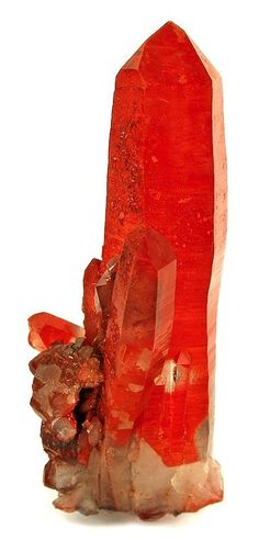 Quartz with Hematite from Namibia
