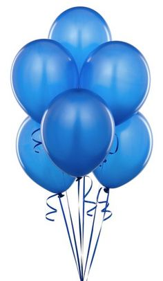 Blue Balloons $4.95