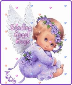 Sending Hugs and Kisses and Angel blessings! Angel Images, Angel Pictures, Cute Pictures, D N Angel, Angel Wings, Baby Engel, Sending Hugs, Sarah Kay, Angels Among Us
