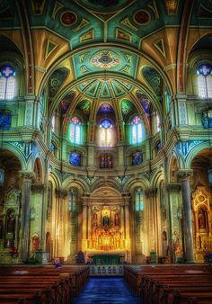 Church, in Greektown, Michigan, 500px / Photo Old St. Marys Church by Marc Perrella,Detroit.