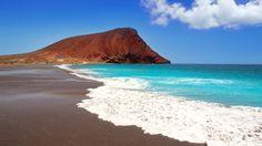Playa La Tejita en Granadilla de Abona, Canarias