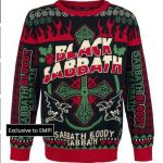 Black Sabbath 'Sabbath Bloody Sabbath' Christmas Holiday Sweater/Jumper.