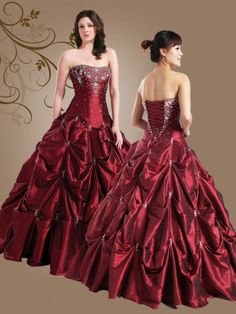 The dress I wore to my boyfriend's prom was similar to this. I loved that dress.