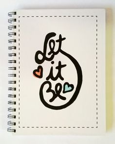 "Cuaderno Beatles ""Let it be"""