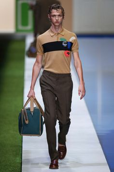 Fendi | Menswear - Spring 2017 | Look 15