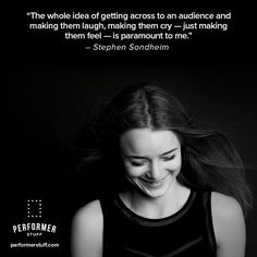 Bring the gift of yourself to your audience. #thespians #acting #broadway #actingquotes #theatrequotes #actinginspiration #actors #quote #quoteoftheday #actorslife #motivation #inspiration #theater